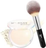 It Cosmetics Bye Bye Pores Pressed Illumination with Brush