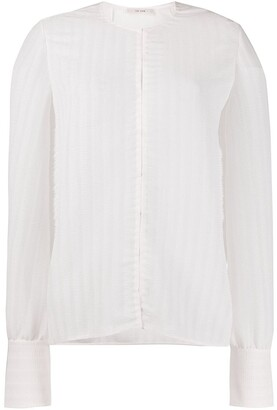 The Row Vertical Pleat Blouse