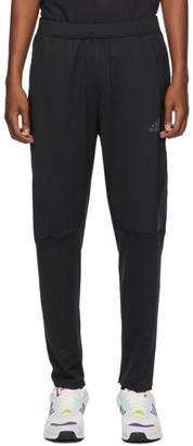 adidas Black Aeroready 3-Stripe Cold Weather Lounge Pants