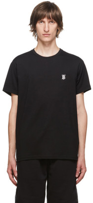 Burberry Black TB Monogram Parker T-Shirt