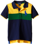 Polo Ralph Lauren Mesh Novel Polo Shirt (Toddler)