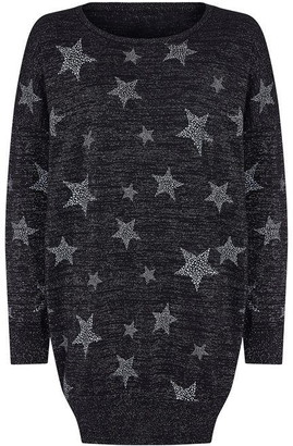 Yumi Sparkly Star Tunic Dress