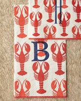 Caspari 100 Lobster Guest Towels