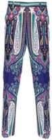 Etro paisley print trouser