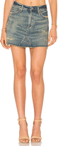 Citizens of Humanity Cut Off Mini Skirt in Blue. - size 26 (also in )