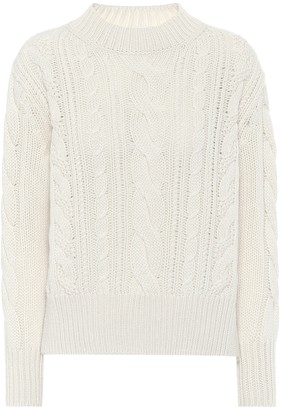 Agnona Cable-knit cashmere sweater