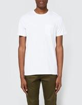 Wings + Horns Original Pocket T-Shirt in White
