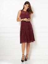 New York & Co. Eva Mendes Collection - Amanda Velvet Lace Dress