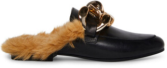 Steve Madden Klaire Black Leather