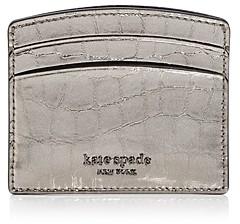 Kate Spade Romy Croc-Embossed Card Case