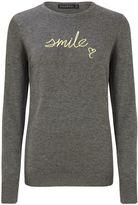 Sugarhill Boutique NITA SMILE EMBROIDERED SWEATER
