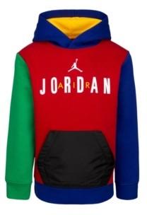 Jordan Toddler Boys Colorblock Logo Hoodie