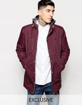 Minimum Parka With Hood Exclusive - Red