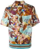 Valentino tropical print shirt - men - Cotton/Polyester/Viscose - 40