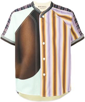 Marni patchwork shirt