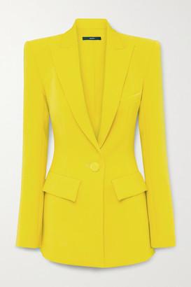 Alex Perry Alex Crepe Blazer - Yellow
