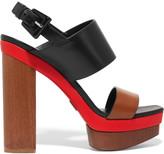 Michael Kors Ettie color-block leather sandals