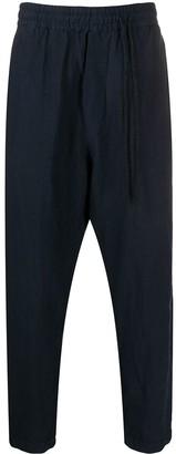 Daniel Andresen Elasticated Waist Drop-Crotch Trousers