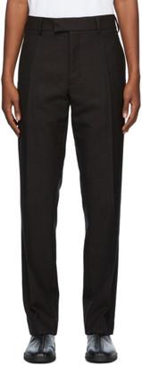 3MAN Brown Wool Twill Trousers