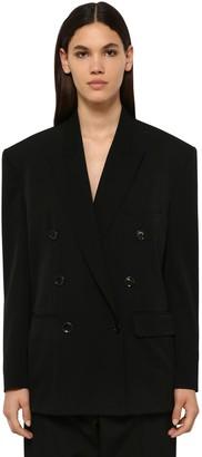 Isabel Marant Aspara Double Breasted Wool Blend Blazer