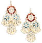 Nanette Lepore Embellished Chandelier Earrings
