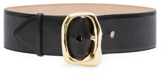 Alexander McQueen Oversized Leather Belt