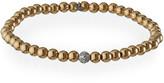 Sydney Evan 14k White Gold Diamond Bead Ball Bracelet