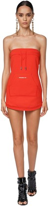 DSQUARED2 Cotton Jersey Mini Dress
