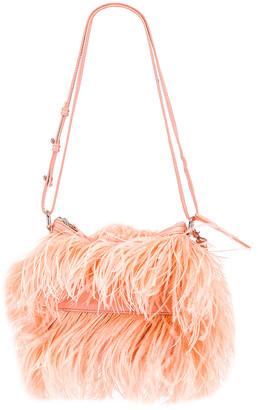 Marques Almeida Marques ' Almeida Feather Bag in Pink | FWRD