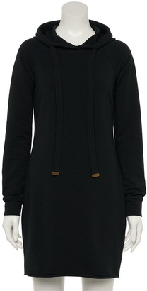 Almost Famous Juniors' Fitted Hoodie Dress