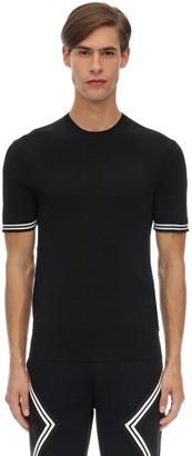 Neil Barrett Viscose Blend Jersey T-Shirt