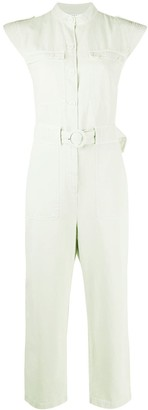 Sandro Paris Romine multi-pocket jumpsuit