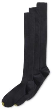 Gold Toe Men's 3-Pk. Premier Over-Calf Socks
