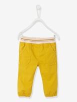 Vertbaudet Baby Girls Poplin Puffball Trousers