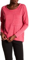 KUT from the Kloth Sasha Boxy Long Sleeve Tee