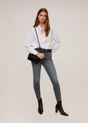 MANGO Jeans high waist slim Gisele