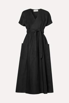 Mara Hoffman Ingrid Hemp Wrap Dress - Black