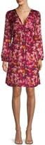 Ava & Aiden Twist Knot Floral Dress
