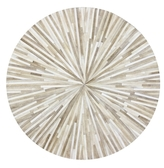 Bashian Rugs Grant Hand-Stitched Round Rug