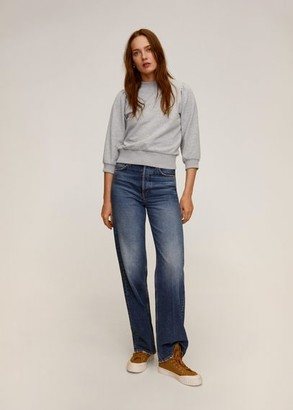 MANGO Puffed sleeves sweatshirt