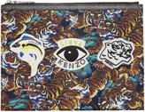 Kenzo Multicolor Multi Icons Pouch