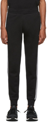 adidas Black 3-Stripes Lounge Pants