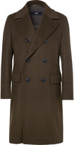 Hugo Boss - Nyden Double-Breasted Felted Virgin Wool and Cashmere-Blend Coat