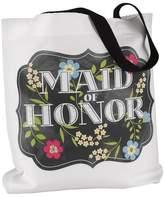 Hortense B. Hewitt Chalkboard Floral Tote Bag - Maid of Honor