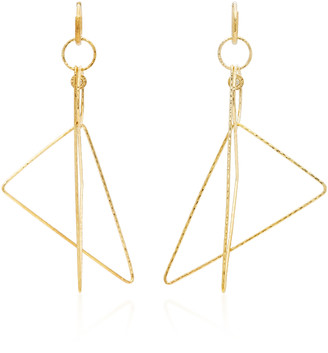 Octavia Elizabeth Gabby 18K Gold Diamond Earrings