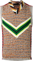 Prada intarsia knit pullover