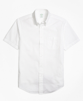 Brooks Brothers Regent Fit Seersucker Short-Sleeve Sport Shirt