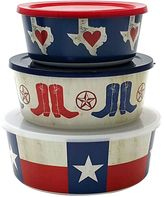 Celebrate Local Life Together Texas 3-pc. Melamine Nesting Bowl Set