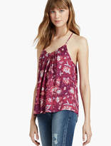 Lucky Brand Strappy Floral Tank