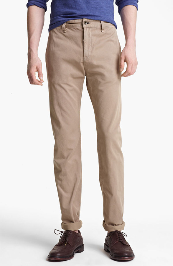 Rag and Bone rag & bone 'RB7' Slim Fit Cotton Pants